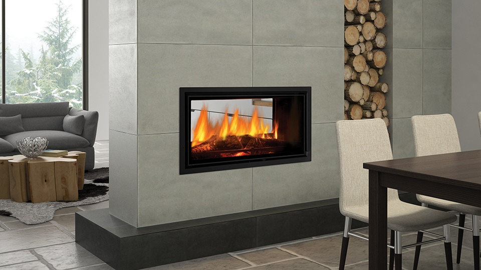 Regency also have see-through fireplaces and easy to install framing kits.