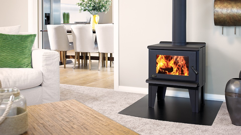 The Kent Benmore wood fire. All Kent wood fires have a 15 year firebox warranty.
