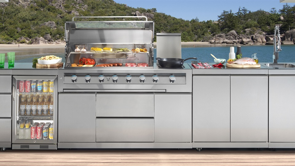 The Gasmate Galaxy Modular Barbecue can be adapted to fit your individual needs.