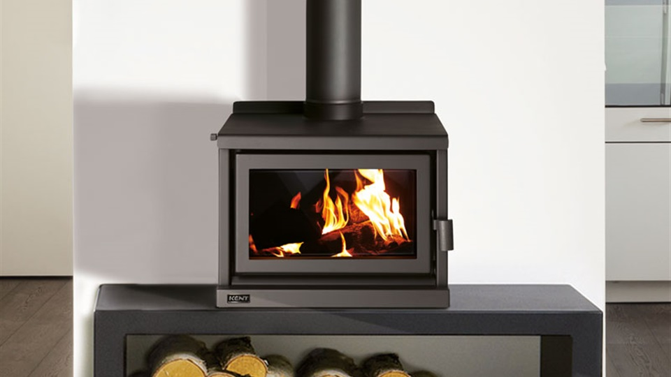 The Kent Forbes benchtop fire place, increases the design options for your contemporary fire place.